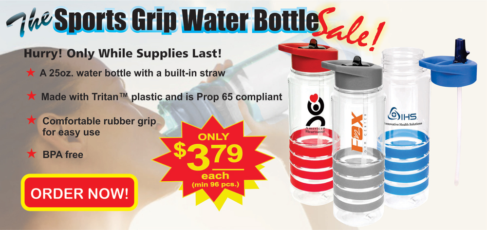 Sports Grip Water Bottle